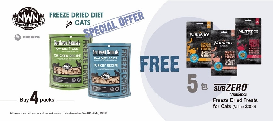 NWN Cat Food Promotion @ ePet.hk