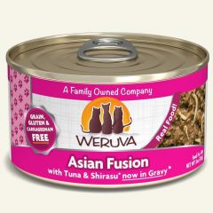 weruva cat canned food asian fusion with tuna and shirase