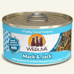 weruva cat canned food mack and jack with grilled skipjack