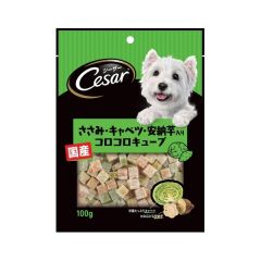 Cesar Dog Treat - Chicken, Cabbage and Sweet Potato Cube 100g