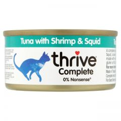 Thrive Complete 100% Tuna with Shrimp & Squid - 75g