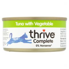 Thrive Complete 100% Tuna with Vegetable - 75g