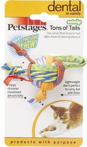 Petstages Cat Toy - Tons Of Tails (2 inch)