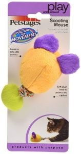 """Petstages Cat Toy - Scooting Mouse (4.5"""" x 2.5"""")"""