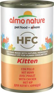 Almo Nature Cat Canned Food - Kitten with Chicken (140g)