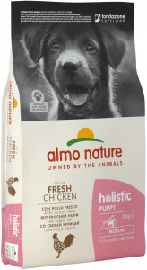 Almo Nature Holistic Medium / Large Puppy Food - Chicken & Rice 12kg