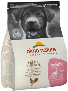 Almo Nature Holistic Medium / Large Puppy Food - Chicken & Rice 2kg