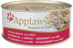 Applaws Cat Canned Food - Chicken Breast with Duck