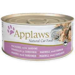 Applaws Cat Canned Food - Mackerel with Sardine