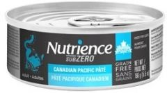 Nutrience - SUBZERO cat wet food - Canadian Pacific Pate 5.5oz
