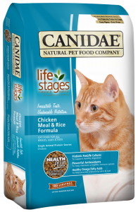 Canidae Dry Cat Food - Life Stages - Chicken Meal & Rice