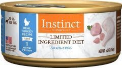 natures variety instinct lid grain free cat canned food chicken 5.5oz