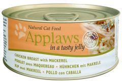 Applaws Cat Canned Food - Chicken Breast with Mackerel in Jelly (70g)