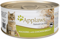 Applaws Cat Canned Food - Mackerel with Chicken Breast 70g