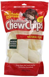 Rawhide Express Dog Chews - ChewChips - Natural 450g