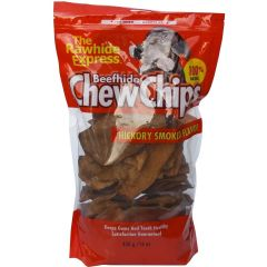 Rawhide Express Dog Chews - ChewChips - Hickory Smoked Bacon Flavor 450g