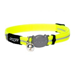 ROGZ AlleyCat Cat Collar - Yellow