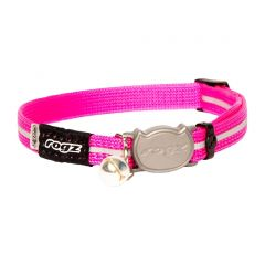 ROGZ AlleyCat Cat Collar - Pink
