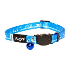 ROGZ KiddyCat Cat Collar - Blue