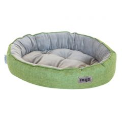 ROGZ Cuddle Oval Podz Pet Bed - Small - Green