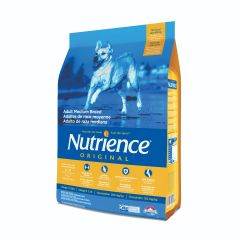Nutrience Original Dog Dry Food - Medium Breed - Chicken Meal With Brown Rice 25lb