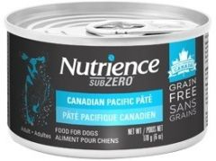 Nutrience - SUBZERO dog wet food - Canadian Pacific Pate 6oz