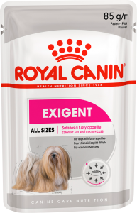 Royal Canin Dog Pouch in Loaf - Exigent 85g