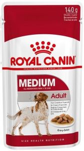 Royal Canin Dog Pouch - Medium Adult 140g