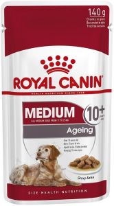 Royal Canin Dog Pouch - Medium Ageing 10+ 140g