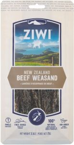 Ziwipeak Oral Chew For Dogs - Beef Weasand 72g