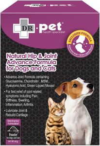DR.pet Natural Hip & Joint Advance Formula Powder for Dogs and Cats 165g