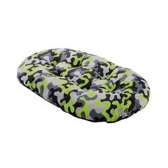 FERPLAST Relax C Pet Bedding - Camo Green