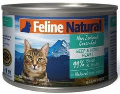 F9 Natural Cat Canned Food - Beef & Hoki 170g