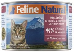 F9 Natural Cat Canned Food - Chicken & Venison 170g
