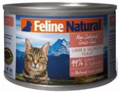 F9 Natural Cat Canned Food - Lamb & King Salmon Feast 170g
