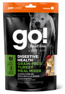 Go! SOLUTIONS Dog Food - Digestive Health - Turkey Meal Mixer 3.5oz - EXP 03/12/2020