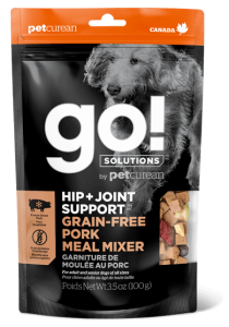 Go! SOLUTIONS Dog Food - Hip + Joint Support - Pork Meal Mixer 3.5oz