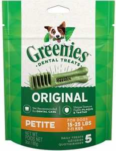Greenies Canine Dental Chews - Petite 3oz