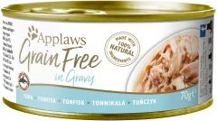 Applaws Cat Canned Food - Grain Free - Tuna Fillet in Gravy 70g
