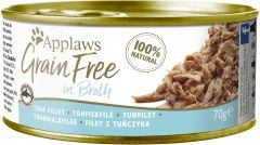Applaws Cat Canned Food - Grain Free - Tuna Fillet in Broth 70g