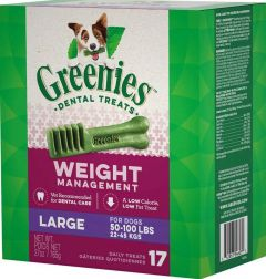 Greenies Canine Weight Management Dental Chews - Large 27oz
