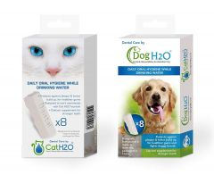 H2O Water Fountains Dedicated Breath Freshener - Dental Care (8 Tablets)