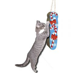 imperial cat scratch n shapes hanging candy cane