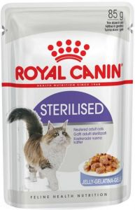 Royal Canin Sterilised in Jelly Cat Pouch (85g)