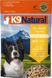 K9 Natural Freeze Dried Dog Food - Chicken Feast 500g
