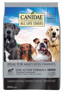 Canidae Dog Food - ALL LIFE STAGES - Less Active Adult & Senior 30lb