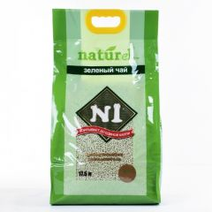 N1 Natural Soybean Clumping Cat Litter - Slim Pellets Green Tea