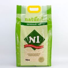 N1 Natural Corn & Soybean Clumping Cat Litter - Slim Pellets Original