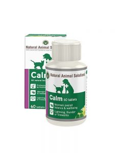 Natural Animal Solutions (NAS) Calm 60 Tablets