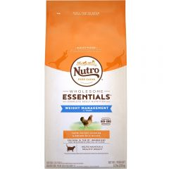 Nutro Cat Food - Adult - Weight Management - Chicken & Whole Brown Rice 3lb